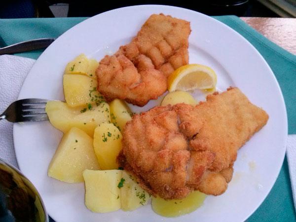 Рыба с картошкой.