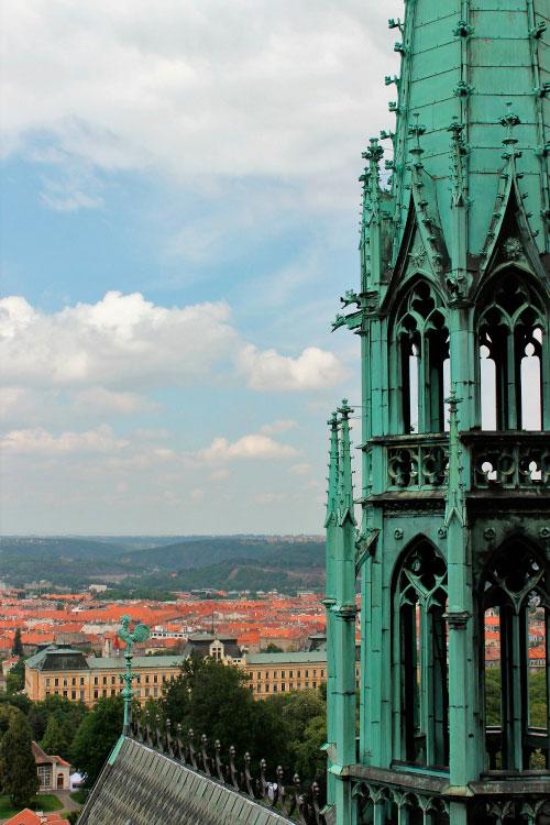 Вид с обзорной башни.