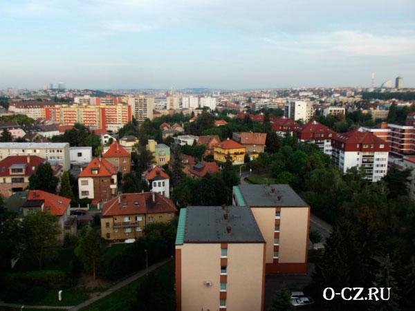 Панорама Праги.
