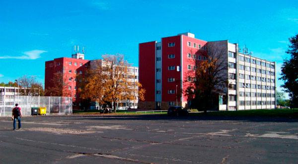 Студенческое общежитие.