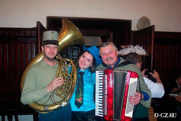 Чешские музыканты.