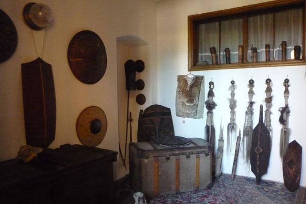 Артефакты с африканского континента.