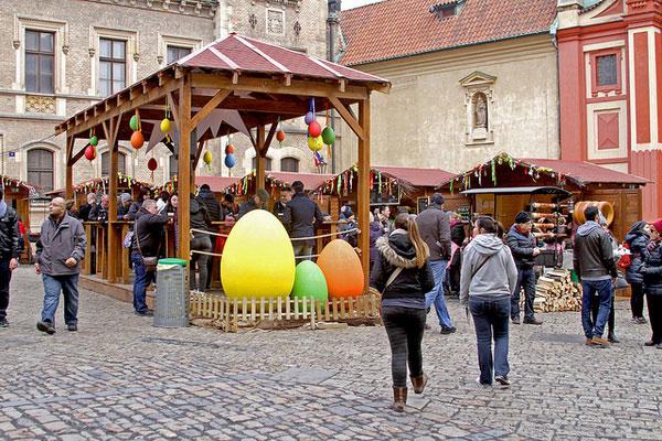 Пасха в Чехии.