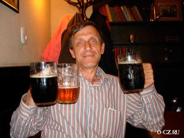 Чешское пиво.