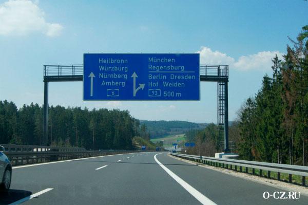 Дорога на Мюнхен.