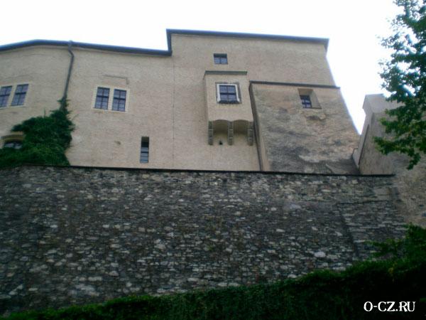 Крепостная стена.