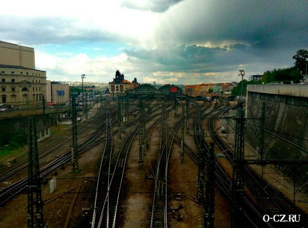 Железнодорожные пути.