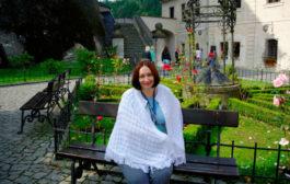 Ольга: «Звезда на горе — замок Чешский Штернберк»