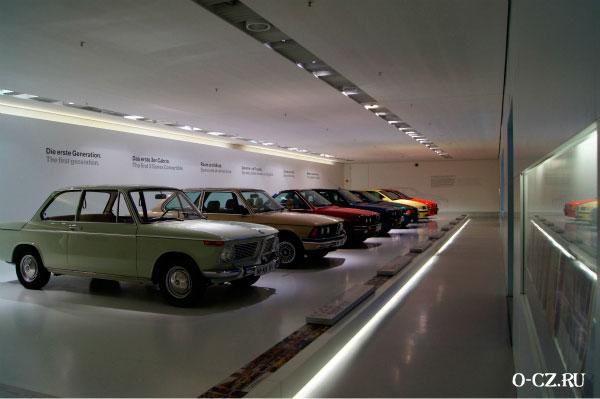 Экспозиция автомобилей.