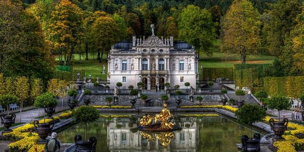 Замок Линдерхоф.