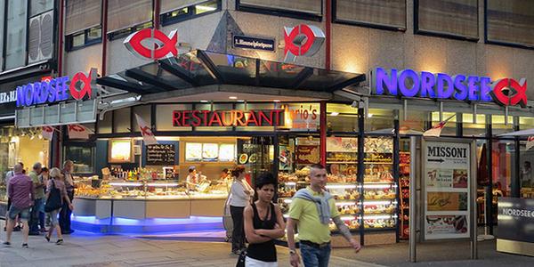 Ресторан Nordsee.