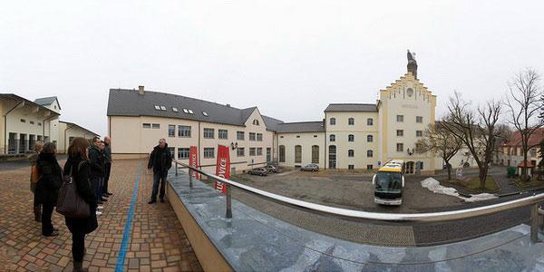 Пивоваренный завод Крушовице.