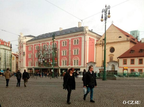 Шопинг в Праге.