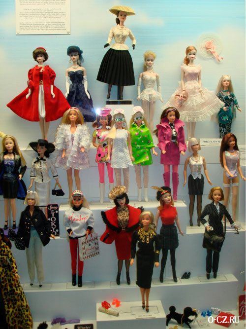 Коллекция Барби.