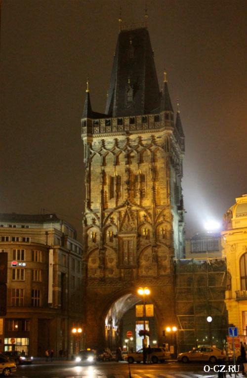 Здание Пороховой башни.