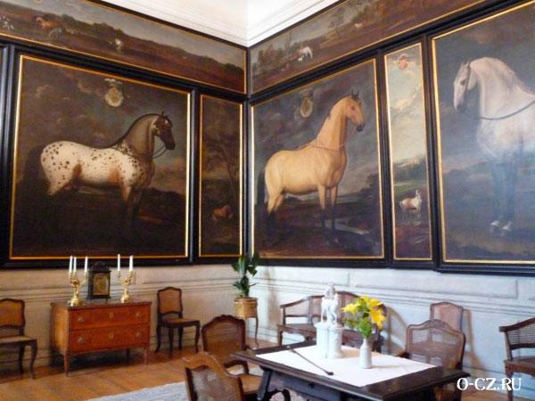 Лошади на картинах.