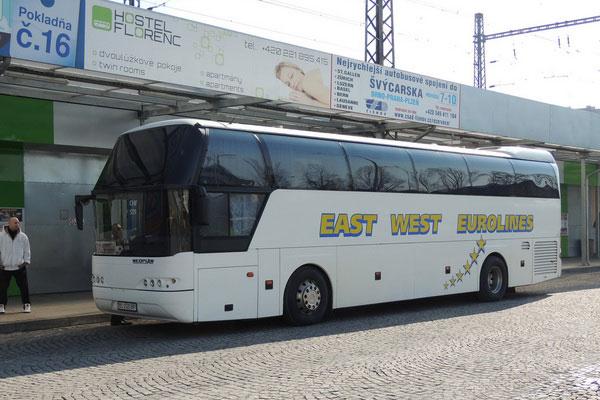 Как добраться на автобусе из Украины в Чехию.