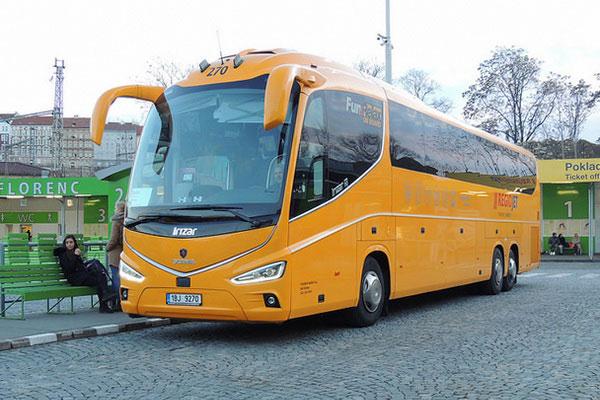 Из Чехии в Польшу на автобусе.