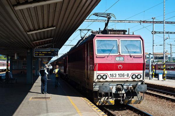 Как доехать из Украины в Чехию на поезде.